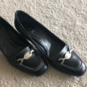 Bally Shoes - Bally black leather heels